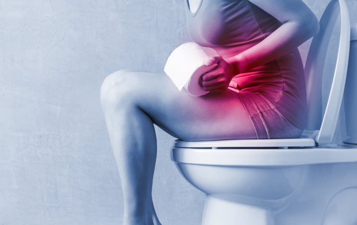 Women experience gut pain from constipation